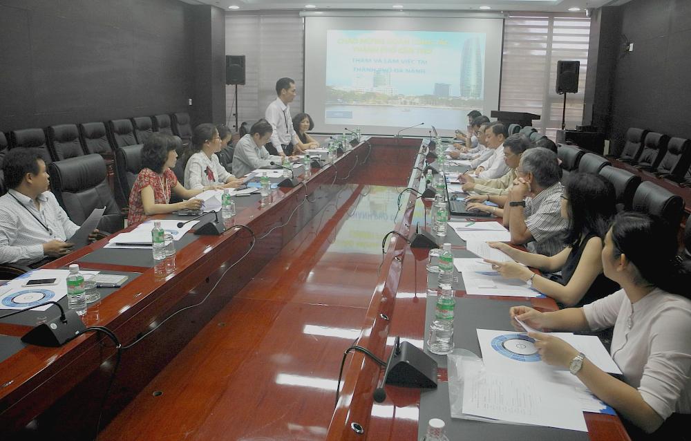 Đà Nẵng chia sẻ kinh nghiệm thực hiện Chương trình 100RC với Cần Thơ