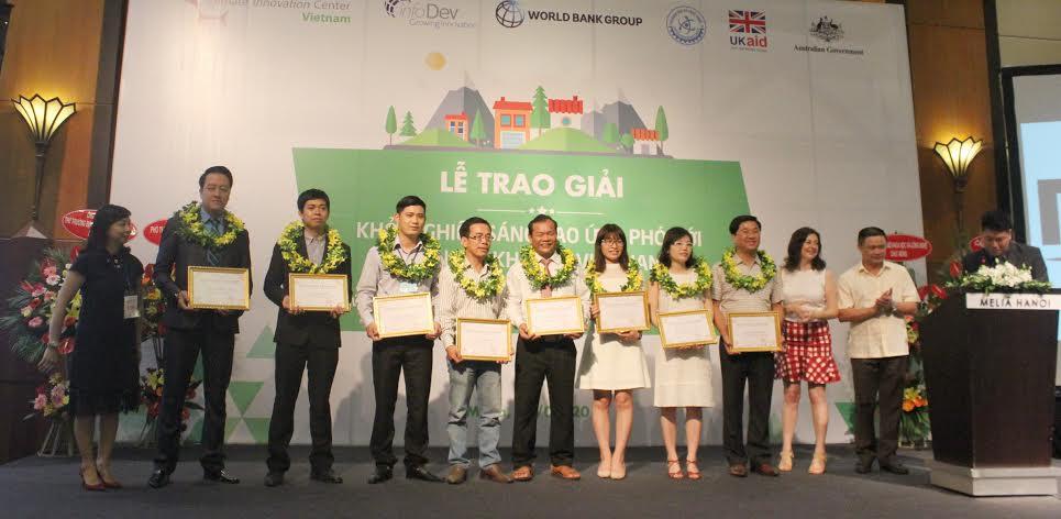 Các Dự án đoạt giải tại cuộc thi Chứng minh ý tưởng lần 1 được tổ chức vào tháng /2016